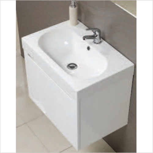 Qualitex Unit & Basins - Radius 60 Basin 600x400mm