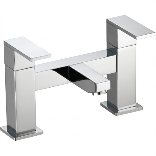 Pura Bath Taps, Mixers & Wastes - Bloque Bath Filler
