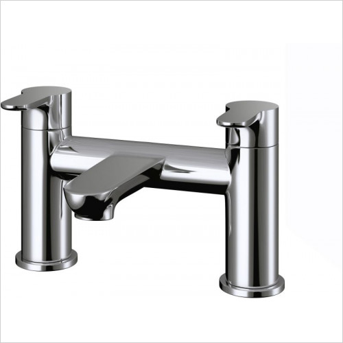 Pura Bath Taps, Mixers & Wastes - Echo Bath Filler