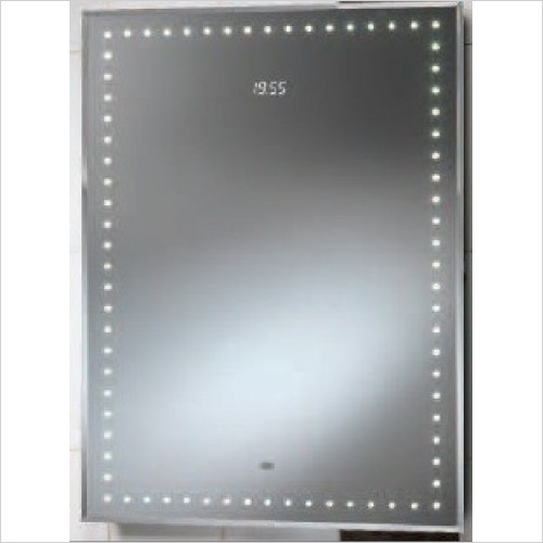Qualitex Mirrors & Lighting - Ravenna 650x850 Mirror With Integrated LED Lights