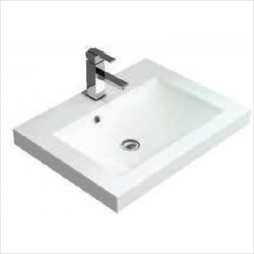 Qualitex Unit & Basins - Q-Line 50 Basin 500x350mm