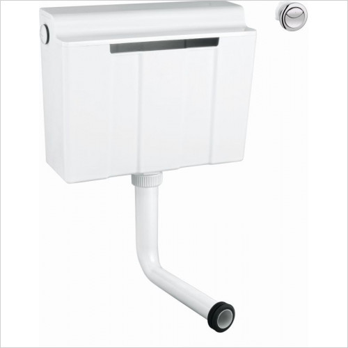 Frontline Sanitary Ware - Grohe Dual Flush Concealed Cistern