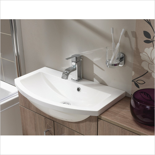 Qualitex Unit & Basins - Eden 60 Rounded Basin 600x350mm