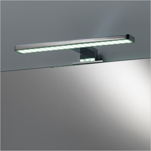 Qualitex Mirrors & Lighting - Deluxe Light Fitting 300x40mm