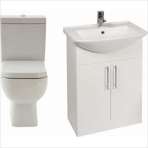 Frontline Sets - Series 600 WC Including S/C Quick Release Seat & 550mm Unit