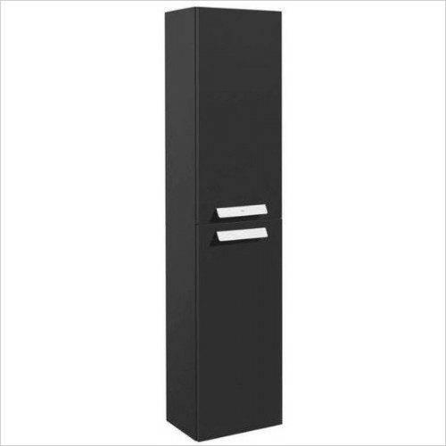 Roca Furniture - Debba Column Unit 250 x 1500mm - 2 Soft-Close Doors