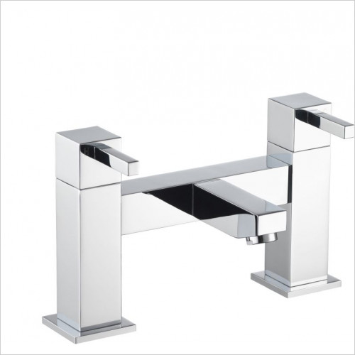 Pura Bath Taps, Mixers & Wastes - Sq2 Bath Filler