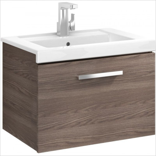 Roca Unit & Basin - Prisma 1 Drawer 600mm