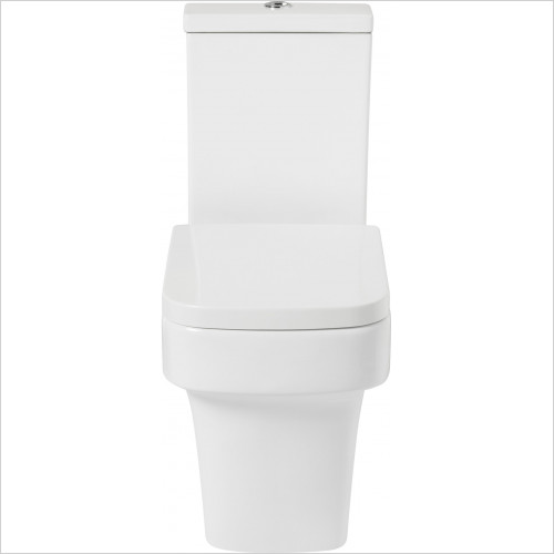 Frontline Sanitary Ware - F60C Open Back WC Including Soft Close Quick Release Seat