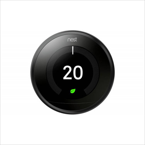 Nest Thermostats - Nest Learning Thermostat 3rd Generation Black