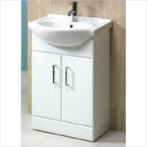 Qualitex Unit & Basins - Richmond 50 2 Door Base Unit 425x300x800mm