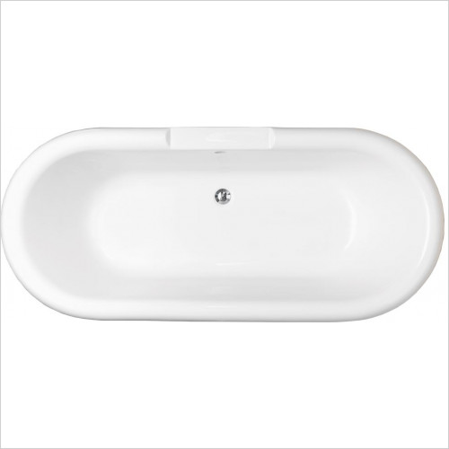 Qualitex Bathing - Romeo Freestanding Bath 1700x750mm