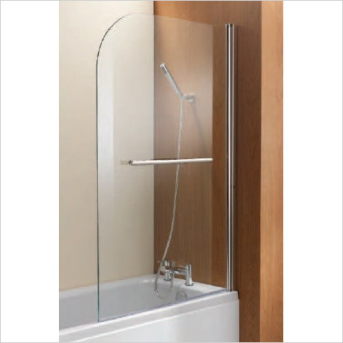 Qualitex Bathing - Ascent Radius Curved Bath Screen