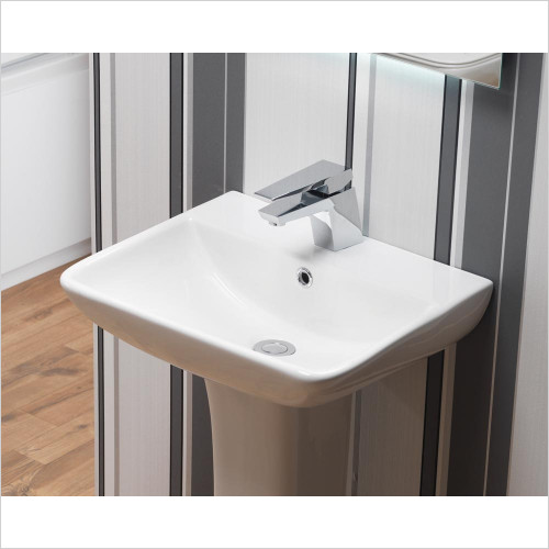 Qualitex Unit & Basins - Arizona 80 Ceramic Basin 1TH