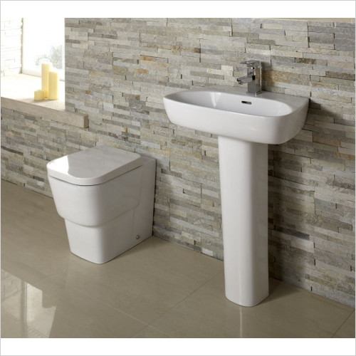 ABC Sanitary Ware - Cubix Back To Wall WC