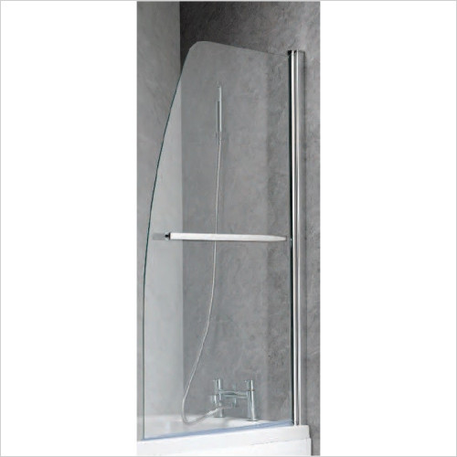 Qualitex Bathing - Ascent Half Sail Luxury Bath Screen