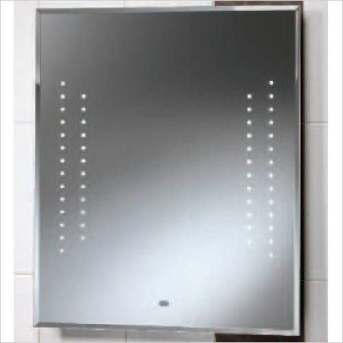 Qualitex Mirrors & Lighting - Duchess Mirror With Integrated LED Lights 600x700