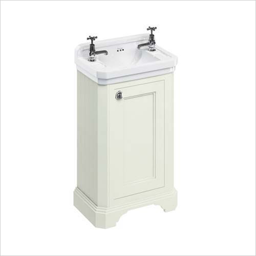 Burlington Unit & Basin - Cloakroom Freestanding Basin Unit With Reversible Door