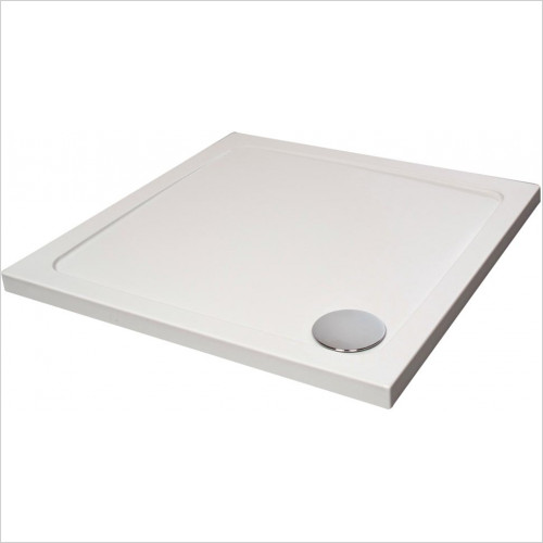 Qualitex Showering - Genesis Square 40mm Tray 700x700mm