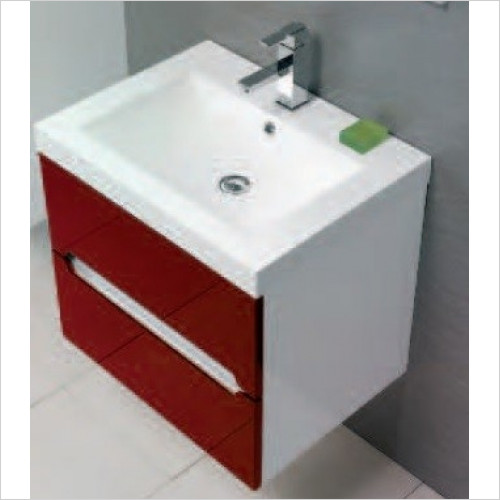 Qualitex Unit & Basins - Zeto 60 Basin 605x460mm