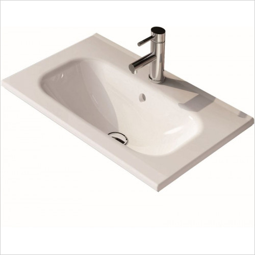 ABC Unit & Basin - Play/Valencia 600mm Ceramic Basin