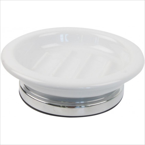 Miller Accessories - Classic Freestanding Ceramic Soap Dish