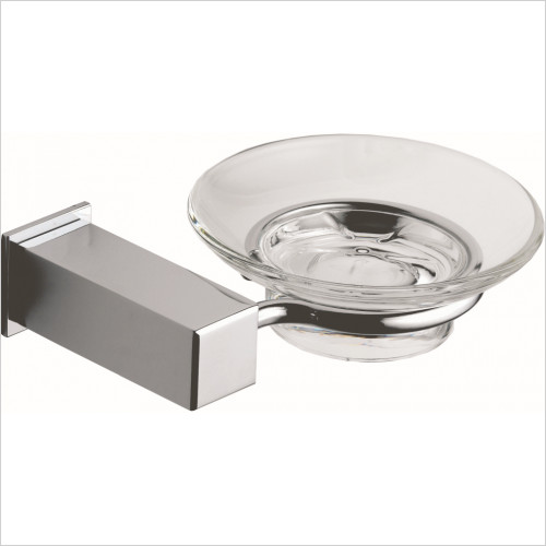Qualitex Accessories - Utah Soap Dish & Holder