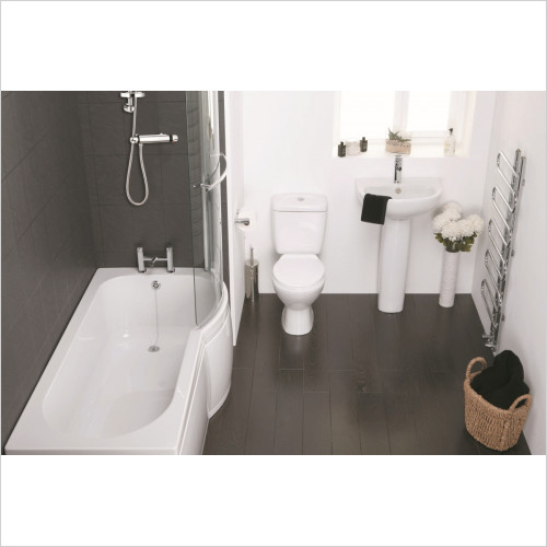 Frontline Suites - Waterfall Shower Bath RH