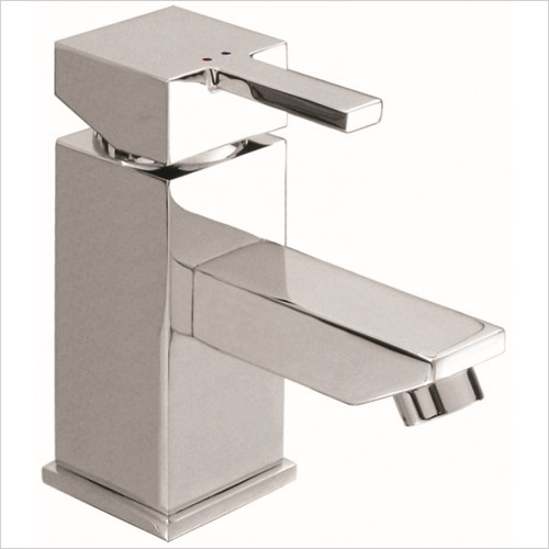 Qualitex Basin Taps, Mixers & Wastes - Nevada Basin Mono With Click-Clack Waste