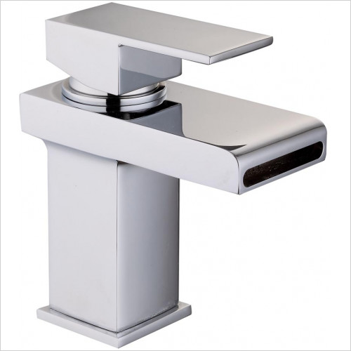 Grosvenor Basin Mono With Open Waterfall Spout & Click-Clack