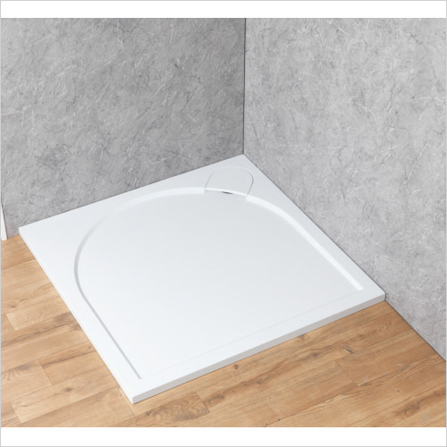 Qualitex Showering - Ascent Premier 30mm Tray Panel Kit - Square