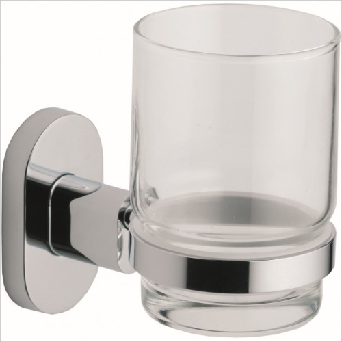 Qualitex Accessories - Ohio Glass Cup & Holder