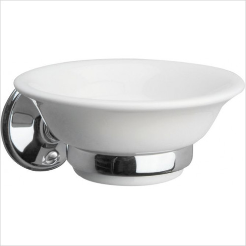 Miller Accessories - Stockholm Ceramic Soap Dish & Holder