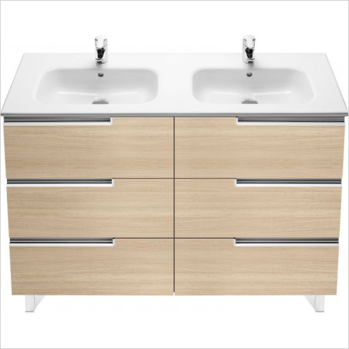 Victoria-N Unik Basin & Base Unit 3 Drawers 1200x460x740mm