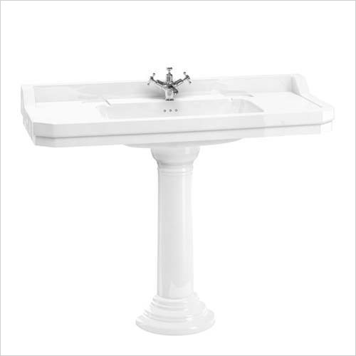 Burlington Sanitary Ware - Edwardian 1H 1200 Basin