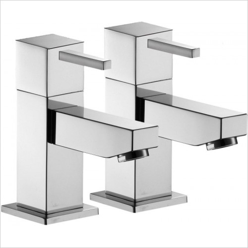 Sq2 Bath Taps (Pair)